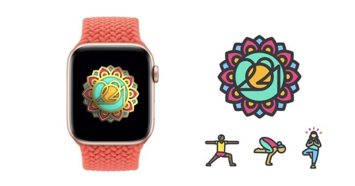 今天瑜伽了嗎?Apple Watch 推出國際瑜伽日 2021 限定獎章,鼓勵使用者保持身心健康