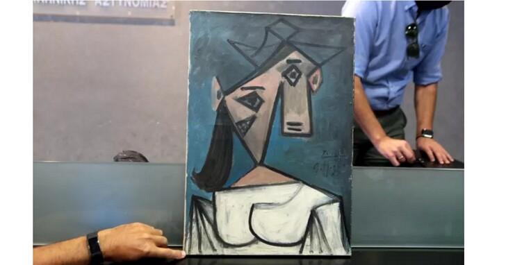 失竊十年的畢卡索畫作被找到!警方公布歹徒偷畫手法、七分鐘閃電偷走三幅名畫
