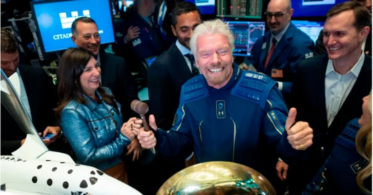 私人企業太空競賽已開始!維珍銀河執行長布蘭森宣布 7月搶先貝佐斯一步上太空