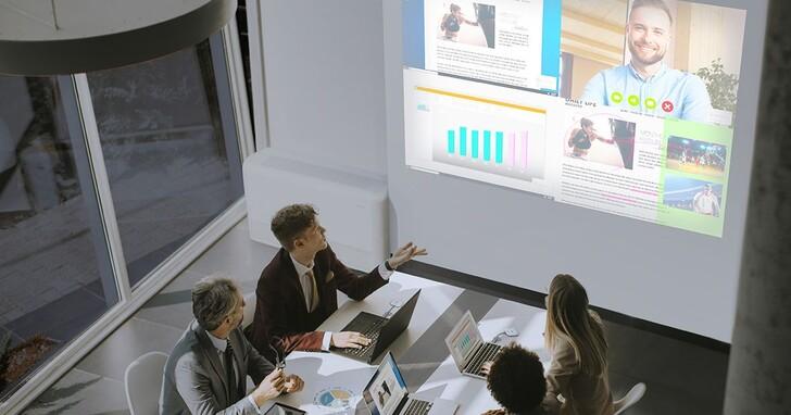 隨插即用、一鍵投影 ,Epson無線簡報分享系統打造高效能會議空間