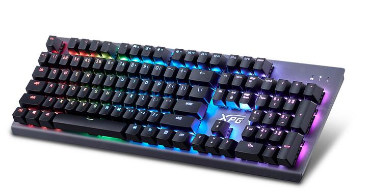 威剛電競品牌XPG推出全新紅軸電競鍵盤 100%防鬼鍵設計 自定義各鍵炫彩光效 滿足玩家沉浸式體驗