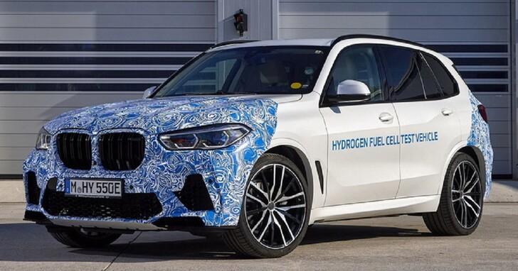 BMW 端出與 TOYOTA 合作開發的 iHydrogen NEXT 零排放氫燃料車
