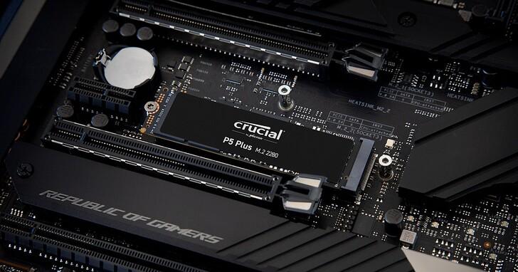 美光推出 Crucial P5 Plus PCIe Gen4 SSD,讀取速度達 6600MB/s,專為內容創作、遊戲等密集工作負載用途所設計