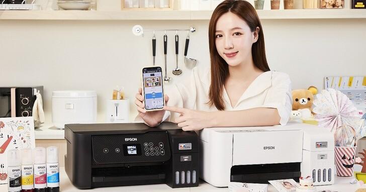 Epson 發表第六代連續供墨印表機,可透過手機遠端智慧遙控,全系列導入免加熱噴墨技術更省電