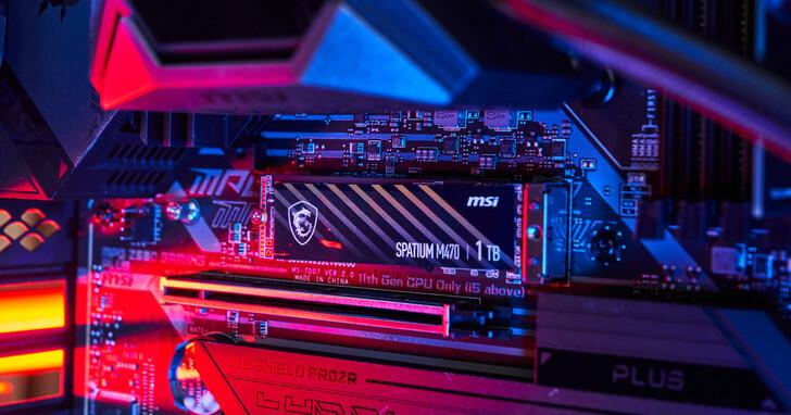 MSI SPATIUM M470 PCIe 4.0 NVMe M.2 1TB SSD 實測:飆速與穩定性兼備,為玩家量身打造的儲存專武!