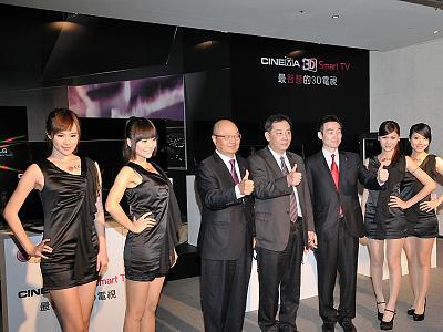 2012 LG CINEMA 3D Smart TV,無邊框 3D 旗艦領軍登場