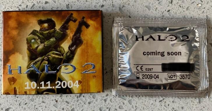 Xbox粉絲秀出珍藏多年《最後一戰2》官方保險套,射擊不忘連結?