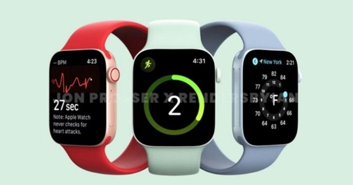 Apple Watch S7 尺寸變大續航提升,但現有Apple Watch用戶可能會不想升級