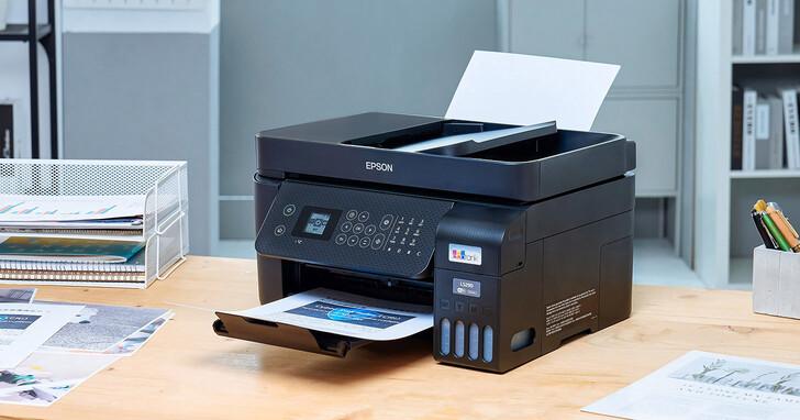 Epson L5290 開箱實測:居家辦公、SOHO 族、微型企業必備的「智慧遙控」連續供墨事務機!