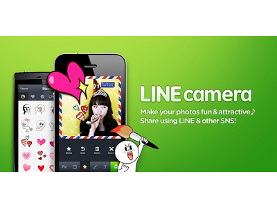 NAVER 再推 LINE Camera,可愛玩偶陪你一起拍照!