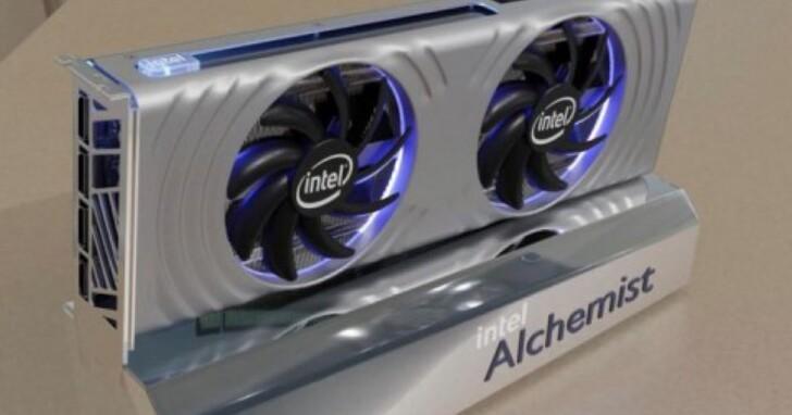 英特爾ARC Alchemist公版顯卡圖片曝光,雙插槽和雙風扇設計