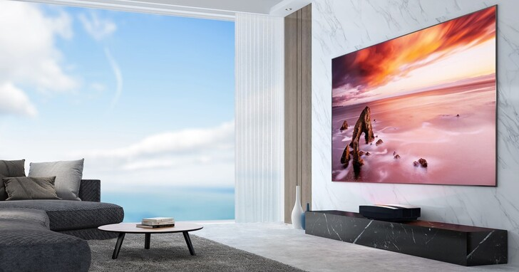 XGIMI 推出 Android TV 4K 超短焦雷射智慧電視 AURA,台灣成為全球首發上市第一站