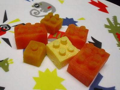 DIY 樂高積木:這次用蔬菜來做,讓小朋友更愛吃