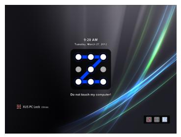 幫 Windows 加上圖形化解鎖功能,用 XUS PC Lock 就對了