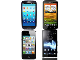 Samsung Galaxy S3 對決 HTC OneX、Sony Xperia S、iPhone 4S