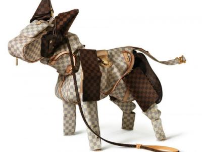 LV 玩創意!經典皮革紋,打造動物奇觀