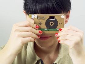 IKEA KNÄPPA 紙板相機,只送不賣趕快參加活動搶相機啊!
