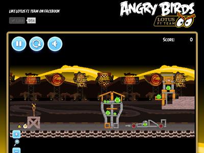 Angry Birds 推出 Monaco 摩納哥 F1 限定版 FB 遊戲!