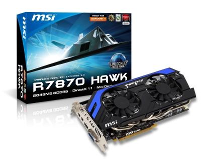 微星HD 7870 Hawk締造3DMark 11多項紀錄!