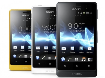 Sony 將推出三防手機 Xperia go、1200 畫素的 Xperia acro S 高階機