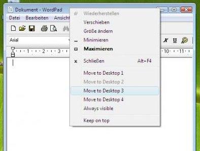 WindowsPager 要幾個桌面有幾個桌面
