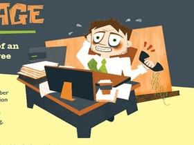 一張資訊圖表道盡過勞症候群,上班族要看、老闆更要看!