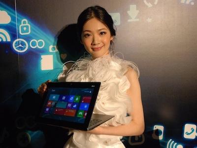 Computex 2012:Asus TAICHI 帶領平板、筆電、AIO 進入 Windows 8 變型世代