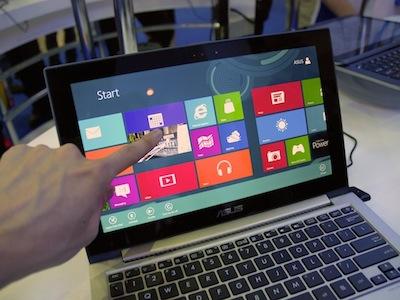 你喜歡 Windows 8 觸控筆電嗎?