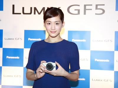Panasonic GF5 在台記者會直擊,魚干女綾瀨遙出席代言