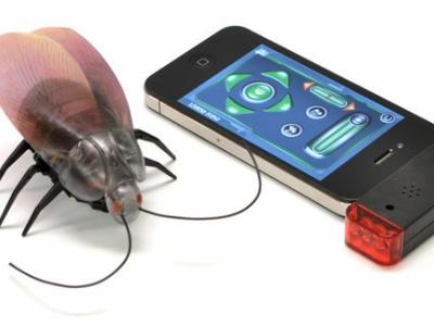 遙控蟑螂再進化,用 iPhone、iPad 操作,還有加速功能!