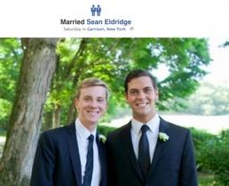 Facebook 新增同性結婚標識,聯合創始人搶先用