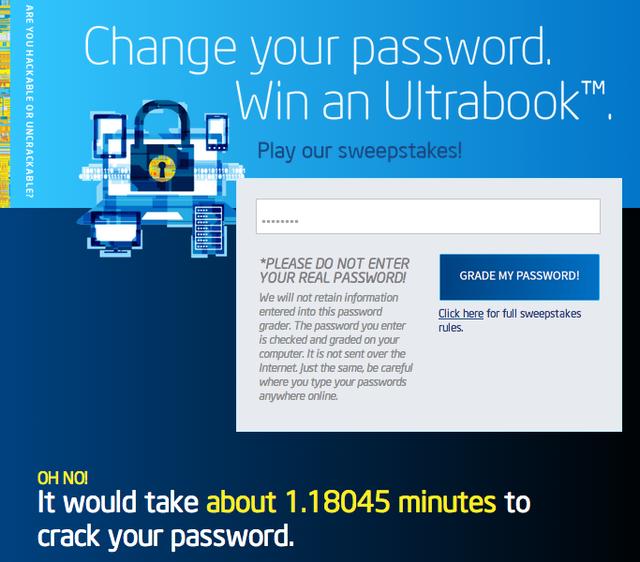 駭客破解你的密碼要花多少時間?讓 Intel 來告訴你