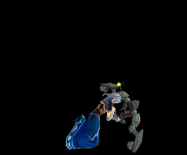 【魔獸世界】【試衣間】英雄聯盟Cosplay:艾希