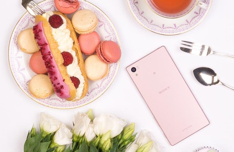 Sony Z5 玫瑰石英粉 1/20 上市,中華電信空機價 21,900 元