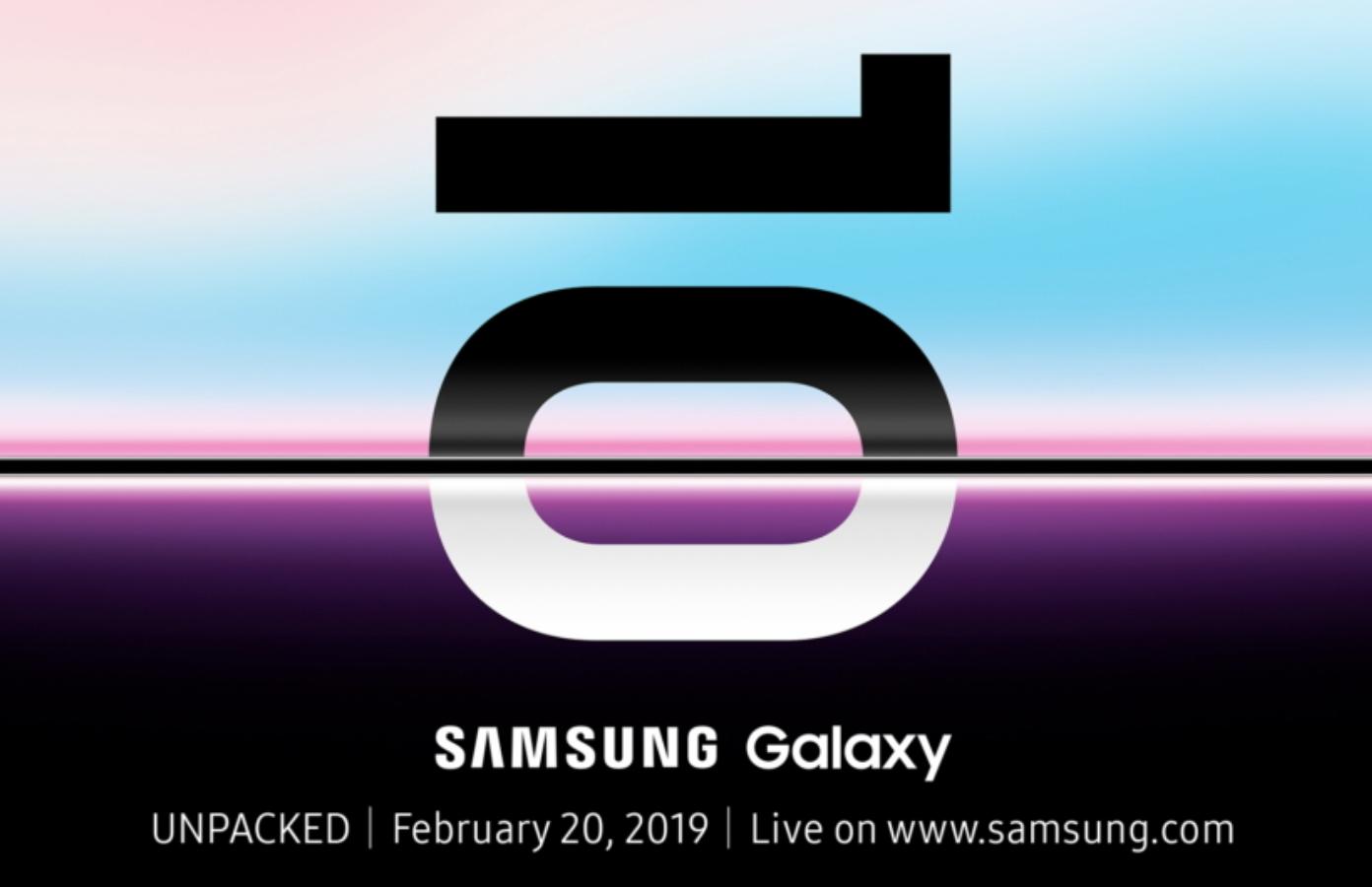 三星發布邀請函,Galaxy Unpacked 新機發表會將於 2/20 舉辦