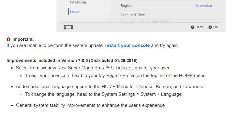 任天堂 Switch 中文介面開始更新,連繁體輸入法也有喔!