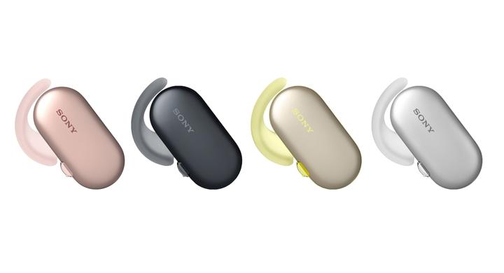 Sony 真無線運動防水耳機 WF-SP900 櫻花粉清新上市!