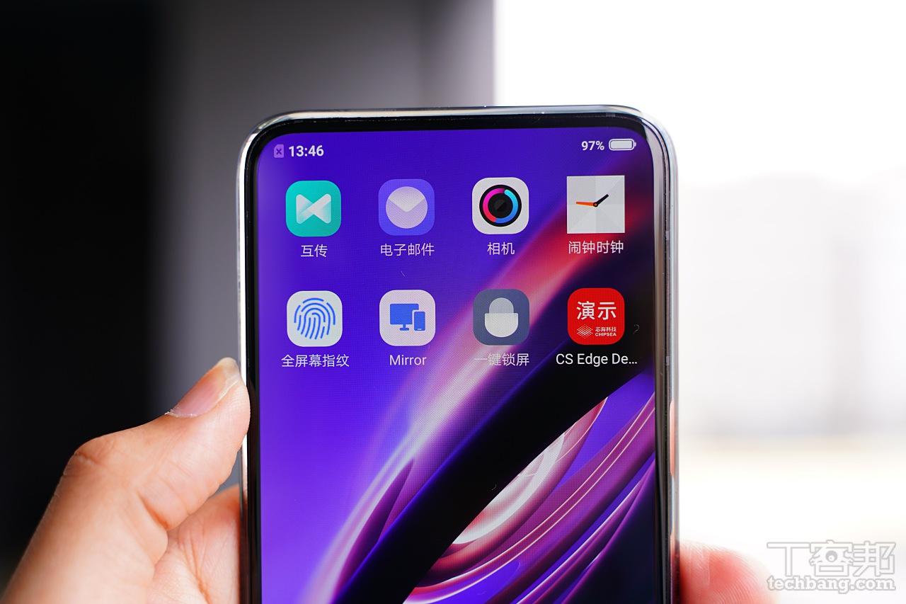 全螢幕指紋辨�、一體化無開��計,5G 概念機 vivo APEX 2019 動手玩