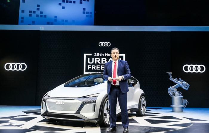 奧迪於上海車展推出概念車AI:ME,實現L4級自動駕駛、未來都市交通解決方案