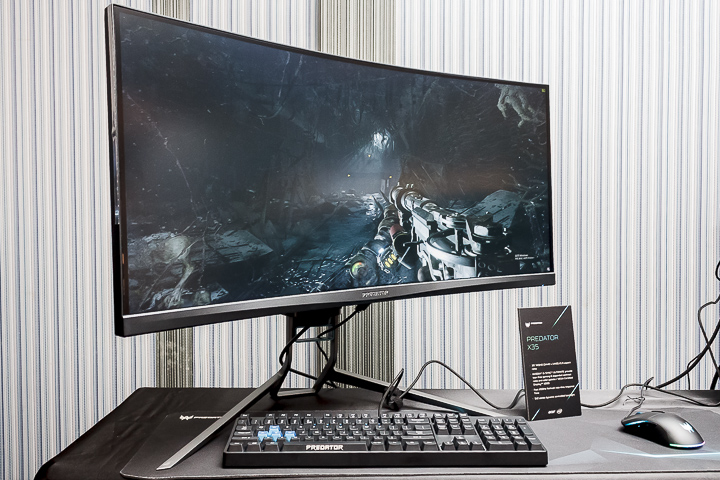 Acer 2019 全新電競螢幕�式發表,四大核心技術勇奪多項世界第一