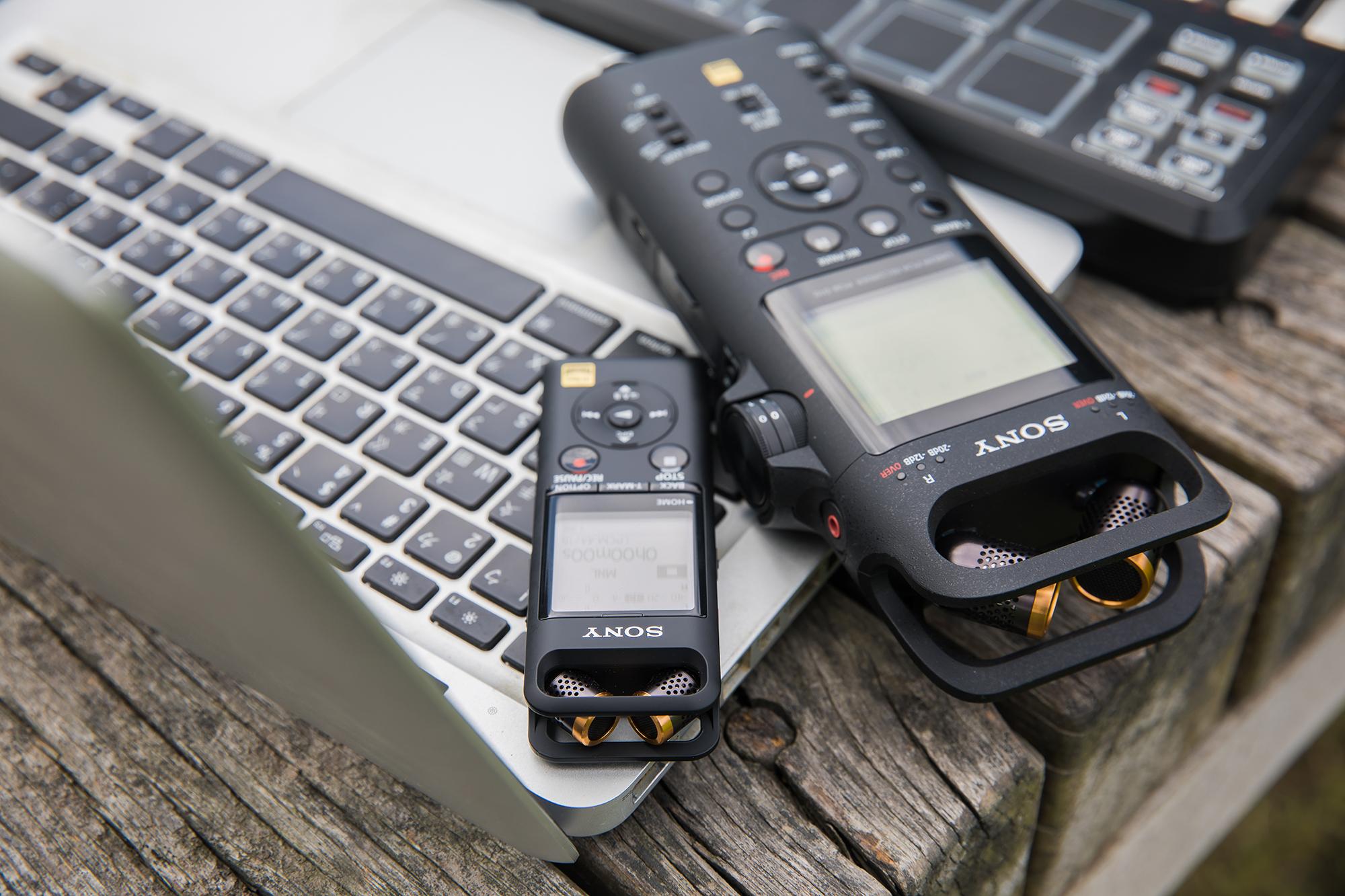 只要不是太吵的環境,舉凡戶外、演奏現場�,PCM-D10(右)都能把現場的聲音清晰錄下。