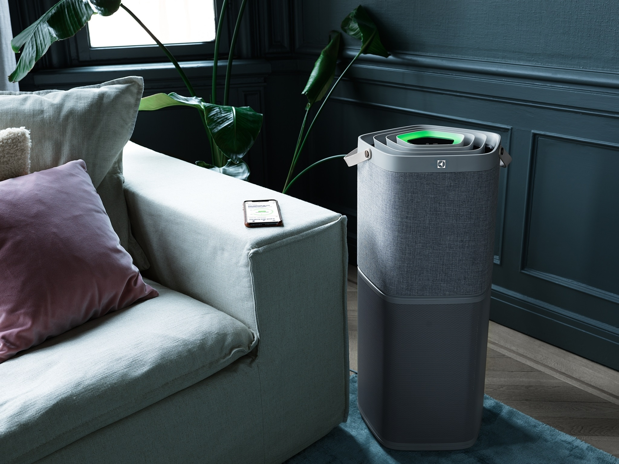 伊萊克斯PURE A9高效能抗菌空氣清淨機新上市!改善過敏不適,除菌力高達99.99%