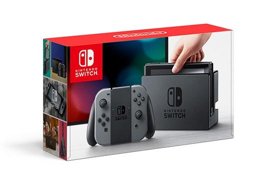 舊款 Switch 包裝,首圖是新款。
