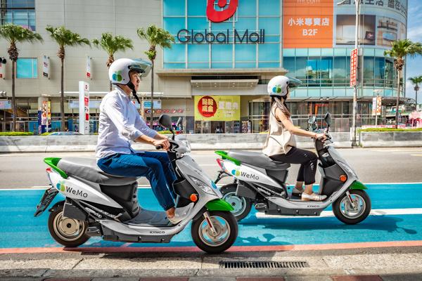 WeMo Scooter  高雄服務今啟用 同步宣布再擴區新北市三重區