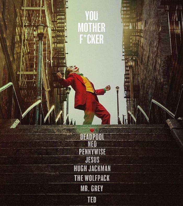 《小丑》打破R級片全球票房紀錄 �侍用特殊方式發來賀電