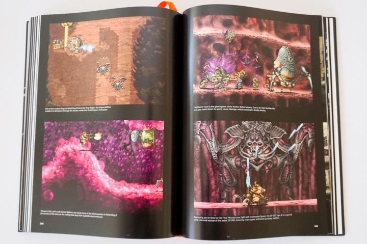 書中也以圖片方式重現遊戲攻略流程。