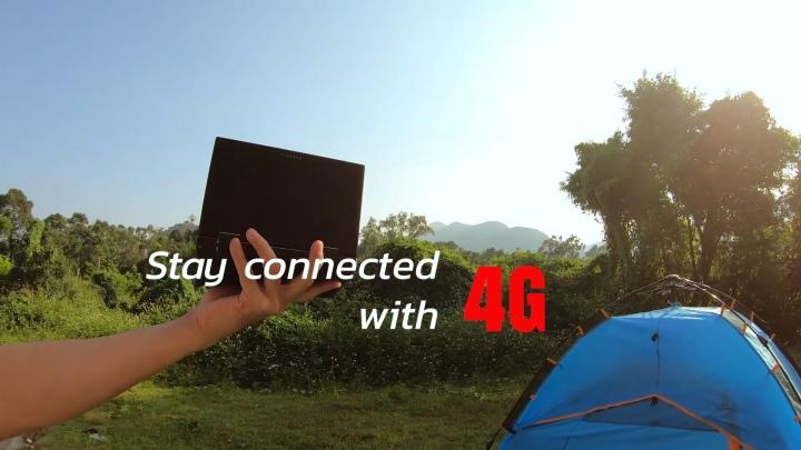 它最大的特色就是內建4G行動網路通訊模組。