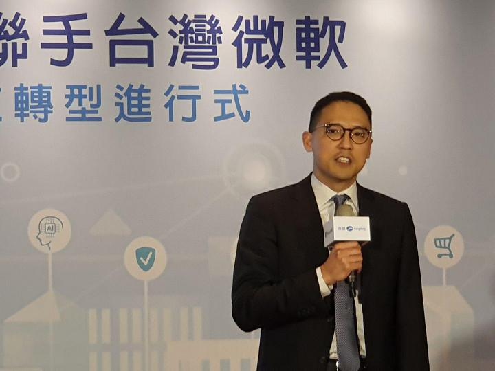 台灣微軟總經理�基康