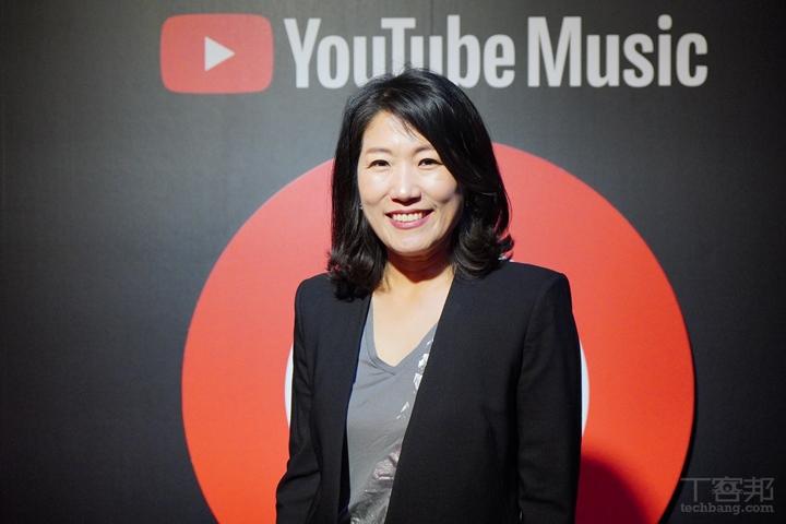 YouTube 大中華與韓國音樂內容合作夥伴副總經理李善貞。