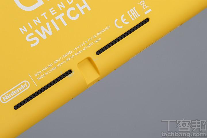 Nintendo Switch Lite 的聲音外放效果與 Nintendo Switch 沒有太大差異,雙喇叭並無縮水。